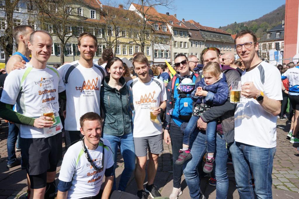 Halbmarathon Heidelberg - Finisher Bild
