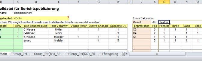 Automatische Publizierung mit Powerpoint und Excel
