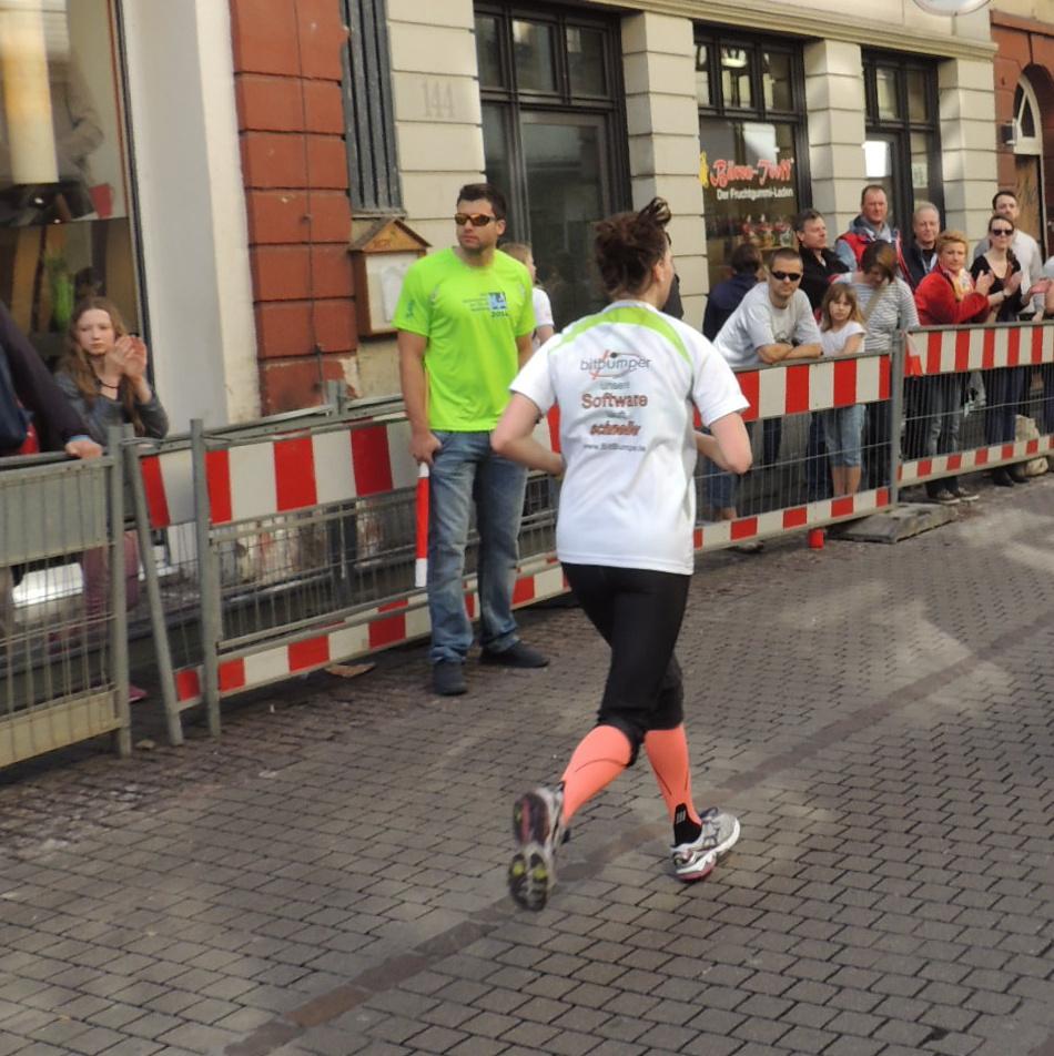 DSCN4061 Halbmarathon Heidelberg 2014 Jenny
