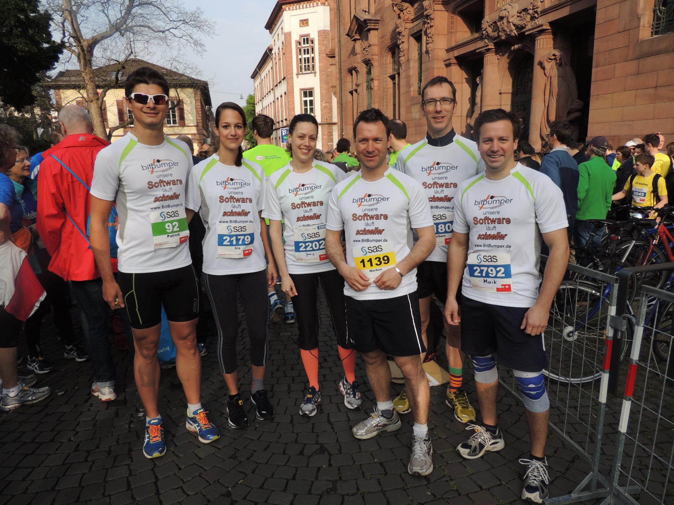 Halbmarathon Heidelberg 2014