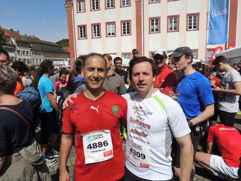 Halbmaration Heidelberg Abdelhadi Maik
