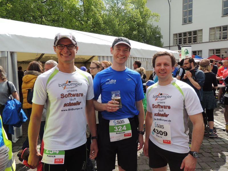 Halbmaration Heidelberg Patrick Andi Maik