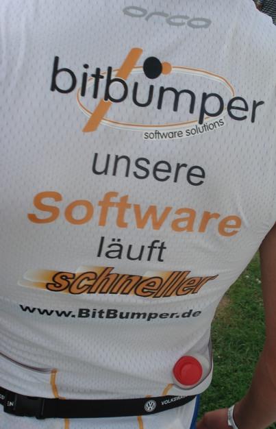 BitBumper Trikot: Unsere Software läuft schneller!