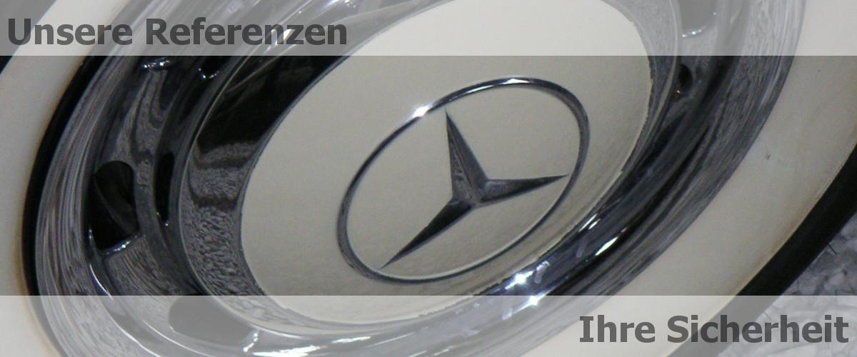 Mercedes Benz Radkappe